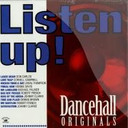 Front View : Various Artists - LISTEN UP! - DANCEHALL ORIGINALS (LP) - Kingston Sounds / kslp040 / 974061