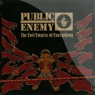 Front View : Public Enemy - THE  EVIL EMPIRE OF EVERYTHING (2X12 LP, 180G) - Suburban Records / burblp110