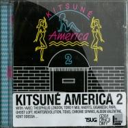 Front View : Various Artists - KITSUNE AMERICA 2 (CD) - Kitsune / kitsunecda049