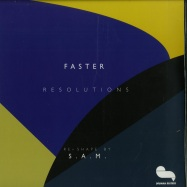 Front View : Faster - RESOLUTIONS (S.A.M. RMX / 180G / VINYL ONLY) - Drumma Records / Drumma016