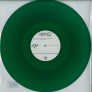 Front View : Rainforest Spiritual Enslavement - GREEN AMULET CRAFTS SUPERNATURAL QUALITIES (GREEN VINYL) - Hospital Productions  / hos-334