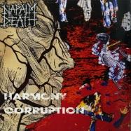 Front View : Napalm Death - HARMONY CORRUPTOIN (LP) - Earache Records / MOSH019LPUS / 7879914