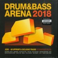Front View : Various Artists - DRUM & BASS ARENA 2018 (3XCD) - AEI MUSIC / DNBA026CD