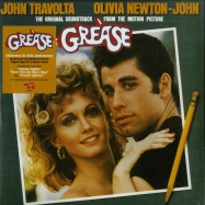Front View : Various Artists - GREASE O.S.T. (180G 2X12 LP + MP3) - Polydor / 6772972