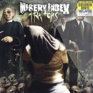 Front View : Misery Index - TRAITORS (LP RED MARBLED VINYL) - Relapse records / 83161261