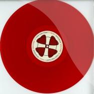 Front View : Sascha Kloeber - SCHICKIMICKI SCHEISSE EP (RED COLOURED VINYL) - Partina Records / PARTINA01