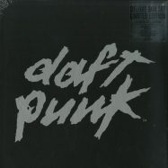 Front View : Daft Punk - Box Alive 2007/ Alive 1997 (180g4xWhite LP) (Ltd Deluxe Box plus 52pg Booklet) - Parlophone / 2564622535