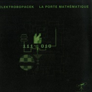 Front View : Elektrobopacek - LA PORTE MATHEMATIQUE (GREEN-BLACK MARBLED VINYL LP) - Mystic & Quantum / M&Q 007