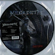 Front View : Megadeth - DYSTOPIA (LTD PIC DISC LP + MP3) - Universal / 4761395