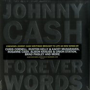 Front View : Johnny Cash - FOREVER WORDS (2X12 LP + MP3) - Sony Music / 88985446761