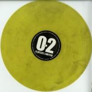 Front View : Jack Wax & Mike Volt / Posthuman - FLATLIFE LIMITED 2 (COLOURED VINYL) - Flatlife Records / FLATLTD002