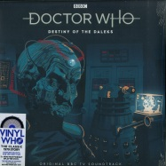 Front View : Doctor Who - DESTINY OF THE DALEKS (COLOURED 180G 2LP, RSD 2019) - Demon Records / DEMWHOLP002