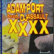 Front View : Adam Port feat. DJ Assault - XXXX - Keinemusik / KM048