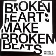 Front View : Minus MrDolly - BROKEN HEARTS MAKE BROKEN BEATS (MAX GRAEF REMIX) - Jazzego / JAZZEGO002