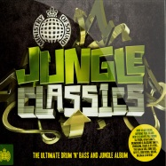 Front View : Various Artists - JUNGLE CLASSICS (PREMIXED 2CD) - Ministry Of Sound / moscd274