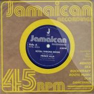 Front View : Prince Alla - ROYAL THRONE ROOM / HAIL RASTAFARI (7 INCH) - Jamaican Recordings / jr7013