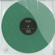 Front View : Nic Fanciulli - Balance (GREEN VINYL) - Saved Records / SAVEDLTD004A