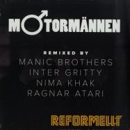 Front View : Motormannen - REFORMELLT (INFORMELLT REMIXED) - Lamour Records / LAMOUR028VIN