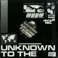 Front View : Cliff Lothar - E-STRING W/ DJ BONEYARD REMIX - Unknown To The Unknown / UTTU073