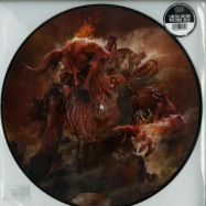 Front View : Morbid Angel - KINGDOMS DISDAINED (LTD PICTURE LP) - Silver Lining Music / SLM071P52