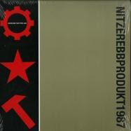 Front View : Nitzer Ebb - THAT TOTAL AGE (CLEAR RED 2LP) - Pylon Records / PYLON 42 / 00132644