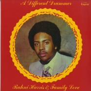 Front View : Rahni Harris & Family Love - A Different Drummer (LP) - Rain & Shine / RSR008