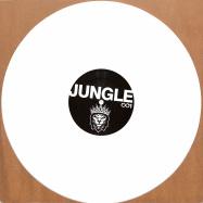 Front View : Unknown - JUNGLE RIDE EP (WHITE VINYL) - Fokuz Recordings / JUNGLE001