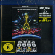 Front View : Daft Punk  - INTERSTELLA 5555 (Blu-Ray) The 5tory Of The 5ecret 5tar 5 - Parlophone Label Group (plg) / 509996785149