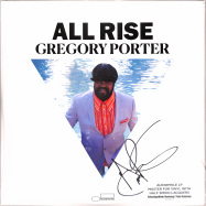 Front View : Gregory Porter - ALL RISE (LTD.EDT.AUDIOPHILE 3-LP / signed) - Blue Note / 0866473