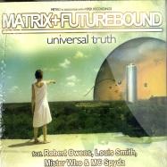 Front View : Matrix vs Futurebound - UNIVERSAL TRUTH (CD) - Viper Recordings / mtrvpr001cd
