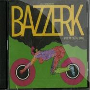 Front View : Jess & Crabbe  present Bazzerk - AFRICAN DIGITAL DANCE (2CD) - Mental Groove / mgcd022