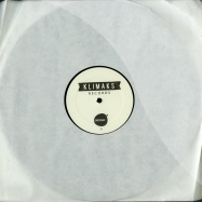 Front View : Ilario Liburni - K001 (BLACK VINYL) - Klimaks Records / K001