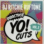 Front View : DJ Ritchie Ruftone - PRACTICE YO! CUTS VOL.3 - Turntable Training Wax / ttw004