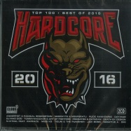 HARDCORE TOP 100 - BEST OF 2016 (2XCD)