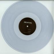 Front View : Arcatype - ASCENSION / NOCTURNE (LTD CLEAR VINYL) - Ingredients Records / RECIPE051