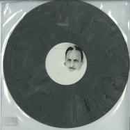 Front View : Djedjotronic - STRAPON (GREY-MARBLED VINYL) - Boys Noize / BNR152