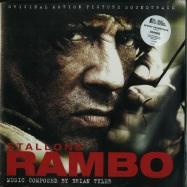 Front View : Brian Tyler - RAMBO O.S.T. (LTD RED SPLATTER 180G 2X12 LP) - Silva Screen / SILLP1260 / 00112161