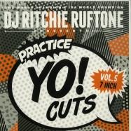 Front View : DJ Ritchie Rufftone - PRACTICE YO! CUTS VOL. 5 (SILVER 7 INCH) - Turntable Training Wax / TTW008