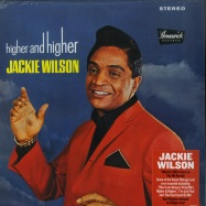 Front View : Jackie Wilson - HIGHER & HIGHER (180 LP) - Demon Records / DEMREC383