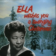 Front View : Ella Fitzgerald - ELLA WISHES YOU A SWINGING CHRISTMAS (LP) - Rumble Records / RUM2011147 / 00129322