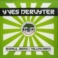 Front View : Yves Deruyter - ANIMALS ... / CALLING EARTH (COLOURED 7 INCH) - Bonzai Classics / BCV2019005