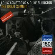 Front View : Louis Armstrong - THE GREAT SUMMIT (180G LP) - Jazz Images / 1083098EL1