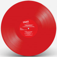 Front View : Maurice - THIS IS ACID (RED VINYL REPRESS) - Trax Records / TXR2RED
