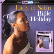 Front View : Billie Holiday - LADY IN SATIN (180G LP + CD) - Groove Replica / 77018 / 9751955