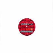 Front View : Various Artists - VIRUS PANIC RED (180G VINYL) - Maximum Minimum / MAXMIN062
