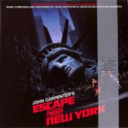 Front View : John Carpenter - ESCAPE FROM NEW YORK O.S.T. (LP) - Silva Screen / SILLP1493