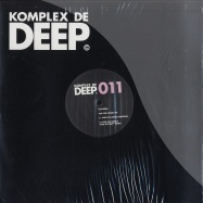Front View : Chymera - FOR THE LONELY EP (FISH GO DEEP REMIX) - Komplex De Deep / KDD011