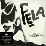 LIVE IN DETROIT 1986 (4X12 LP + MP3)