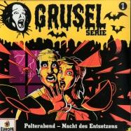 Front View : Gruselserie - POLTERABEND - NACHT DES ENTSETZENS (LP) - Europa / 19075899571