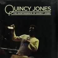 Front View : Quincy Jones - THE QUINTESSENCE OF QUINCY JONES (LP) - Culture Factory / 3700477829346